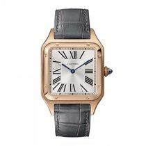 Cartier Santos Dumont Złoto różowe 43.5mm Srebrny