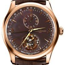 Jaeger-LeCoultre Master Grand Tourbillon Rose gold 43mm Brown Arabic numerals