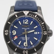 Breitling Steel Automatic Blue 46mm new Superocean