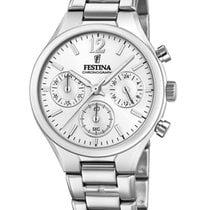 Festina Steel 36mm Quartz F20391/1 new