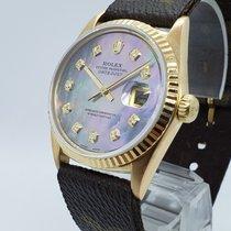Rolex 1601 Желтое золото Datejust 36mm подержанные
