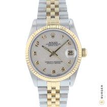 Rolex Lady-Datejust Gold/Stahl 31mm Arabisch