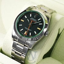 Rolex Milgauss new 2019 Automatic Watch with original box and original papers 116400GV