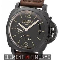 Panerai Luminor 1950 8 Days GMT Steel 44mm Black Arabic numerals United States of America, New York, New York