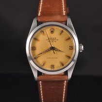 Rolex Air King Precision Steel 35mm Brown No numerals