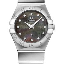 Omega Constellation Brushed Quarz Small Tahiti