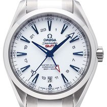 Omega Seamaster Aqua Terra 150m Co- Axial GMT Good Planet