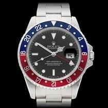 Rolex GMT-Master II Pepsi Stainless Steel Gents 16710 - W4001