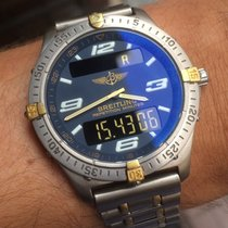 Breitling Aerospace Titanio 40mm Azul