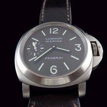Panerai Luminor F serie PAM 118 with brown tobacco dial.