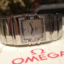 Omega Constellation Quadra 42 Diamonds Mother of Pearl