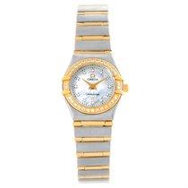 Omega Constellation Mini Mop Diamond Ladies Watch 1267.75.00...