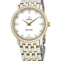 Omega 413.25.27.60.55.001 Gold/Steel De Ville Prestige 27mm new United States of America, New York, New York