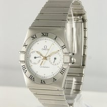 Omega Constellation Steel 35mm White