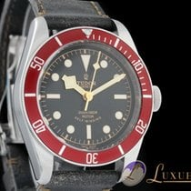 Tudor Heritage Black Bay Red Edition Edelstahl -& Textilband |...