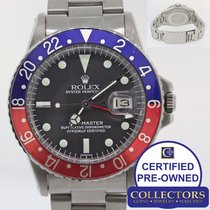 Rolex 1974 Vintage Rolex GMT-Master 1675 Pepsi Blue Red Maxi...