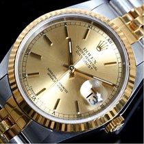 ロレックス Datejust 16233 Automatic Winding K18ss Champagne W #...