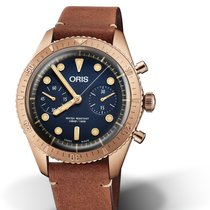 Oris Carl Brashear Bronze 43mm Blue