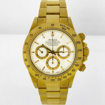 Rolex Daytona 40 mm 18k Yellow Gold Ref#16520 White Dial, Zenith