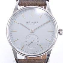NOMOS Orion Steel 33mm Grey No numerals