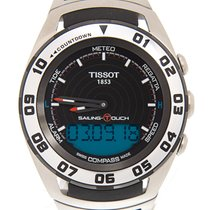 Tissot Sailing-Touch Acero 45mm Negro