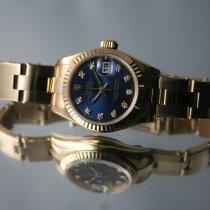 Rolex Lady-Datejust Oro giallo 26mm Blu Senza numeri Italia, GENOVA