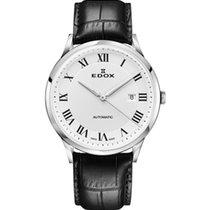 Edox Silver White 42mm new Les Vauberts