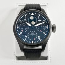 IWC Big Pilot Top Gun Ceramika 48mm Czarny Arabskie