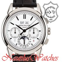 Patek Philippe 5270G-001 White gold 2011 Perpetual Calendar Chronograph 41mm pre-owned