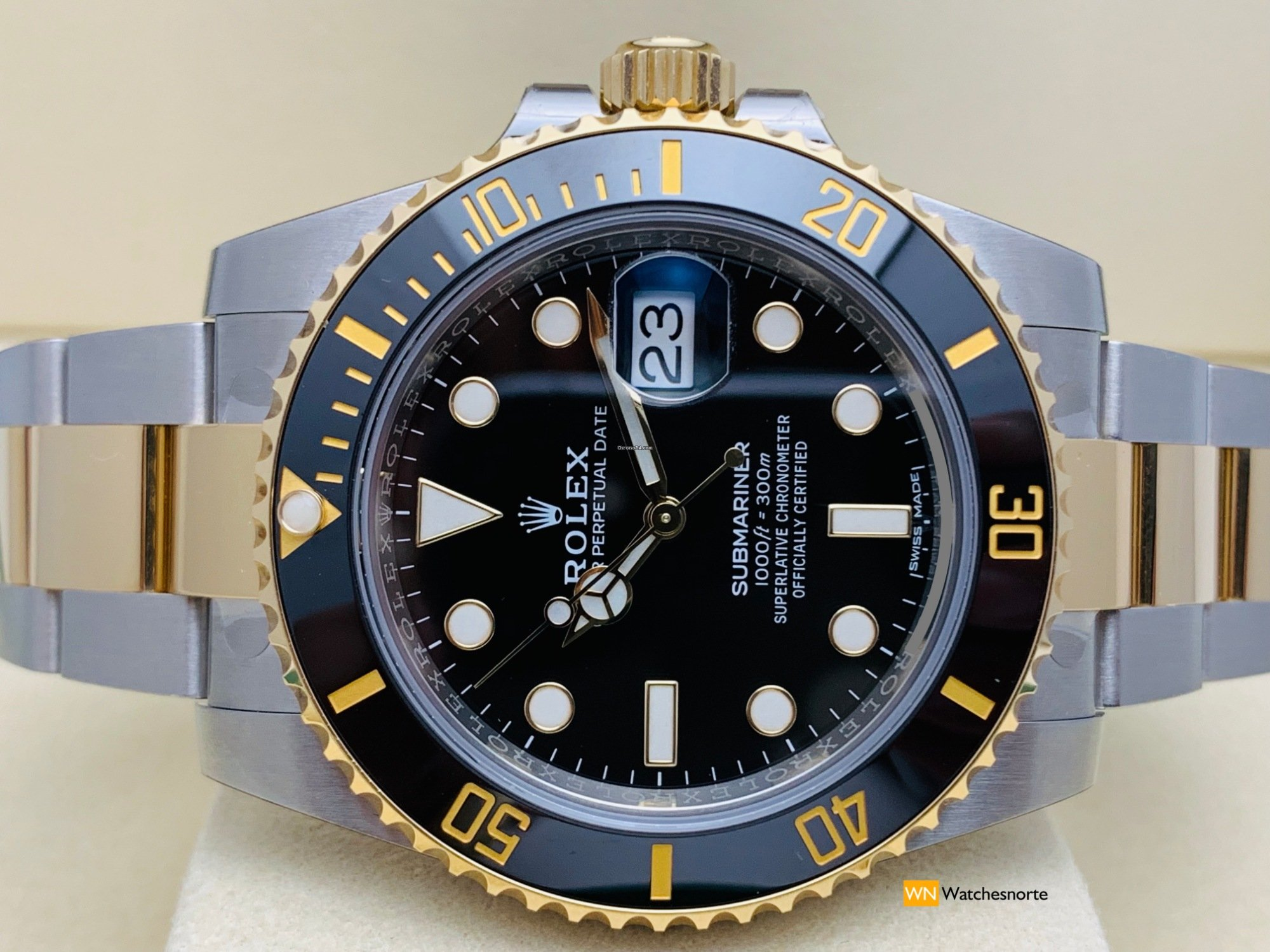 c8d5c9014bb65 Rolex Submariner Date Ceramic 116613LN NEW 2019 Stickers for $12,933 ...