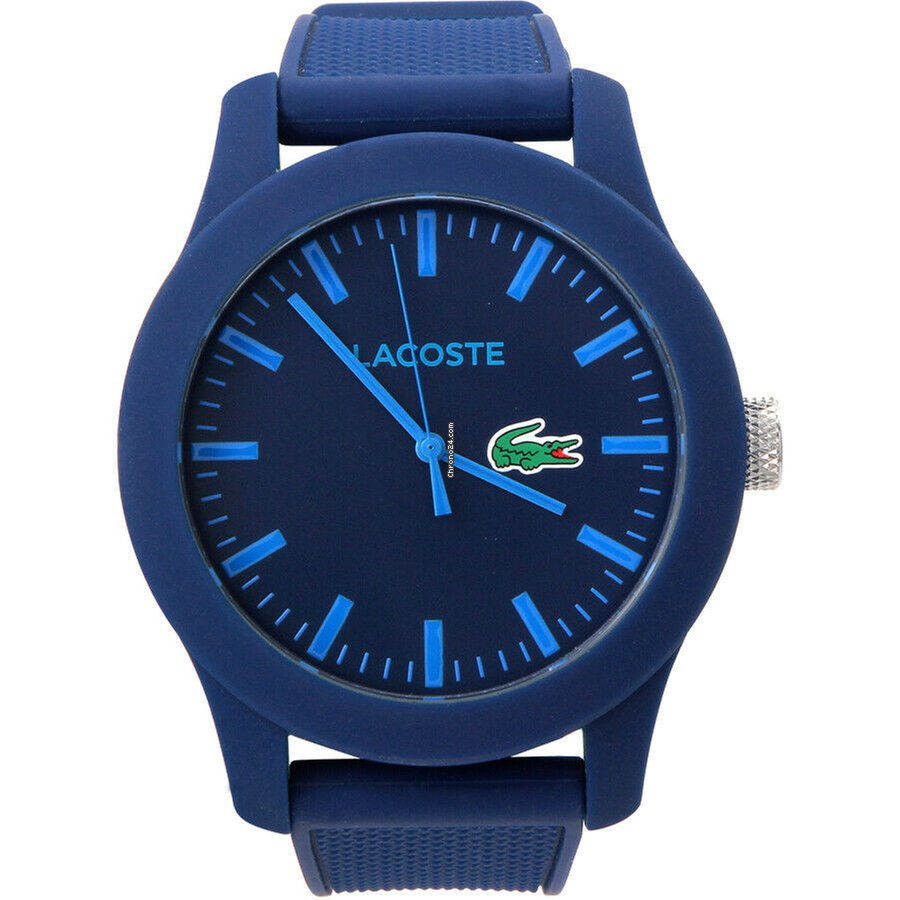 reloj 3a6cc 2962e Lacoste 12.12 Quartz Movement Blue Dial Unisex Watch 2010765