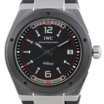 IWC Ingenieur Automatic pre-owned 44mm Black Date Rubber