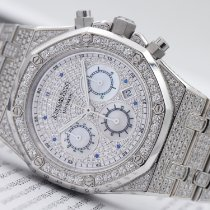 Audemars Piguet Royal Oak Chronograph White gold Mother of pearl Arabic numerals
