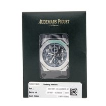 Audemars Piguet Royal Oak Offshore Chronograph Stahl 42mm Schwarz Arabisch