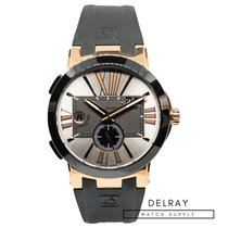 Ulysse Nardin Executive Dual Time Rose gold 42mm United States of America, Florida, Hallandale Beach