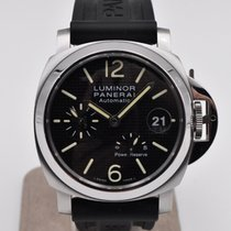 Panerai Luminor Power Reserve Stål 40mm Svart Arabisk