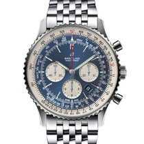 Breitling Navitimer 01 (46 MM) Steel 46mm Blue No numerals United States of America, Iowa, Des Moines