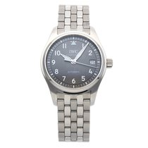 IWC Pilot's Watch Automatic 36 Steel 36mm Grey Arabic numerals