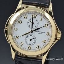 Patek Philippe Calatrava Travel Time 18K Yellow Gold Manual...