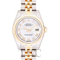 Rolex Lady-Datejust nuevo Reloj con estuche y documentos originales 179173 NR