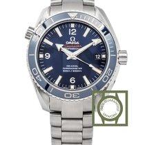 Omega Seamaster Planet Ocean Co Axial 600m blue titanium