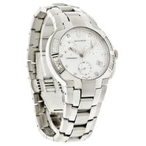 Bulova Accutron York Mens Chronograph Diamond Quartz Watch 26E05