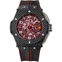 Hublot Big Bang Ferrari 401.QX.0123.VR Новые Углерод 45mm Автоподзавод