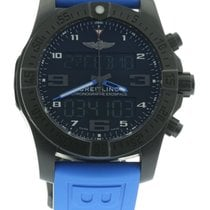 Breitling Exospace VB5510 Watch with Rubber Bracelet and...