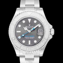 Rolex Platinum Automatic Grey new Yacht-Master 37