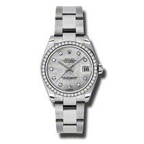 Rolex Lady-Datejust Stål 31mm Perlemor