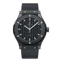 Hublot Classic Fusion 42mm Ceramic Black Magic Watch
