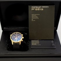 Porsche Design Yellow gold Automatic Porsche Design P6613 pre-owned