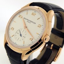 Baume & Mercier Clifton Rose gold 42mm Silver Arabic numerals United States of America, California, Los Angeles