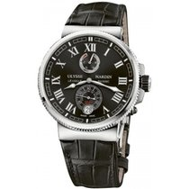 Ulysse Nardin Marine Chronometer Manufacture Steel 43mm Black United States of America, New York, New York